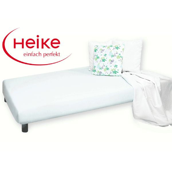 Heike Mako-Jersey Mattress Cover, White