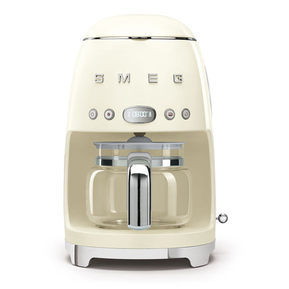 SMEG Drip Filter Coffee Machine, Cream