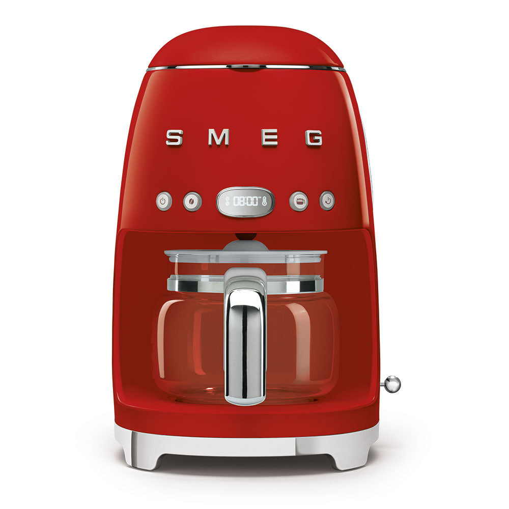SMEG Drip Filter Coffee Machine, Red