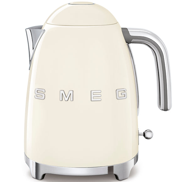 SMEG Kettle 3D Logo, Cream
