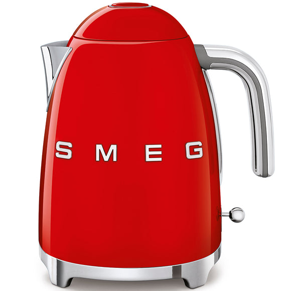 SMEG Kettle 3D Logo, Red