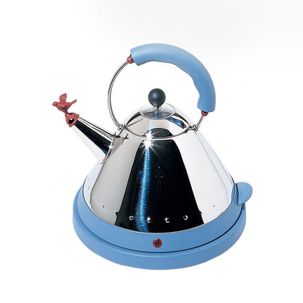 Alessi Michael Graves Electric Kettle - Blue