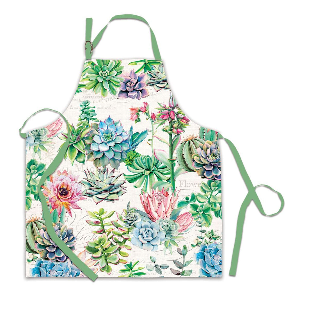 Michel Design Works Apron, Pink Cactus