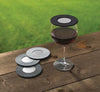 Drink Tops Contemporary Ventilated Wine Glass Cover in BOXED SET