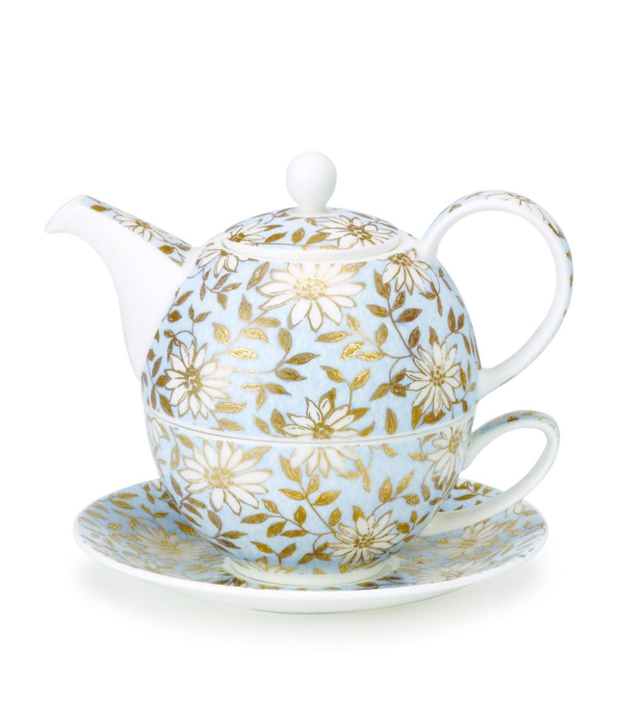 Dunoon Tea For One Set, Aqua