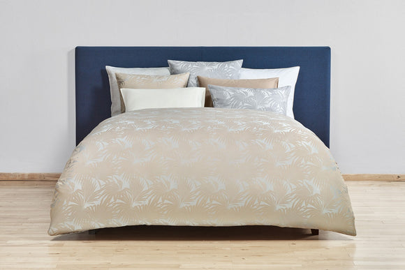 Christian Fischbacher Duvet Cover Set, SUMATRA JACQUARD GOLD