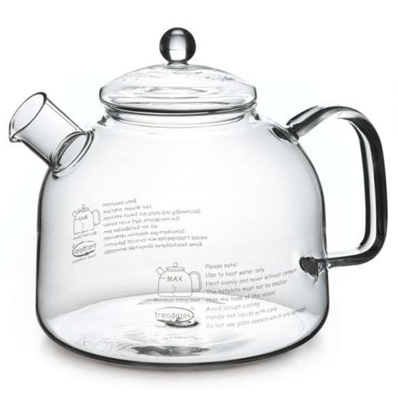 Trendglas Water Kettle with Glass Lid