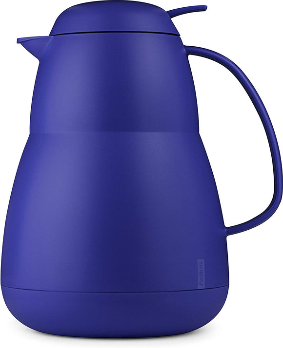 Helios Zeo Insulated Server, 34 oz. Matte Blue
