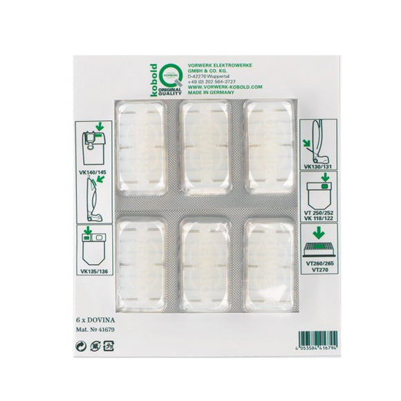 Vorwerk NEW AIR FRESHENERS 6PC