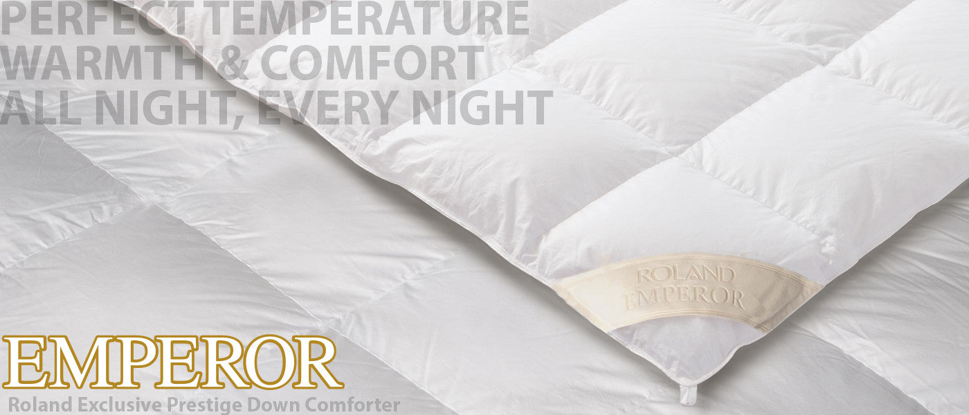 Roland Exclusive Prestige: For Perfect Temperature Warmth & Comfort. All Night, Every Night
