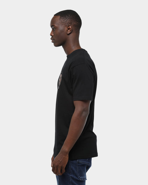 BABY RAPPER HEAD TEE - Black