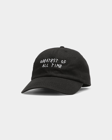 GREATEST PRECURVED STRAPBACK - Black
