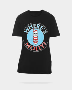 WHERES MOLLY SS T - Black