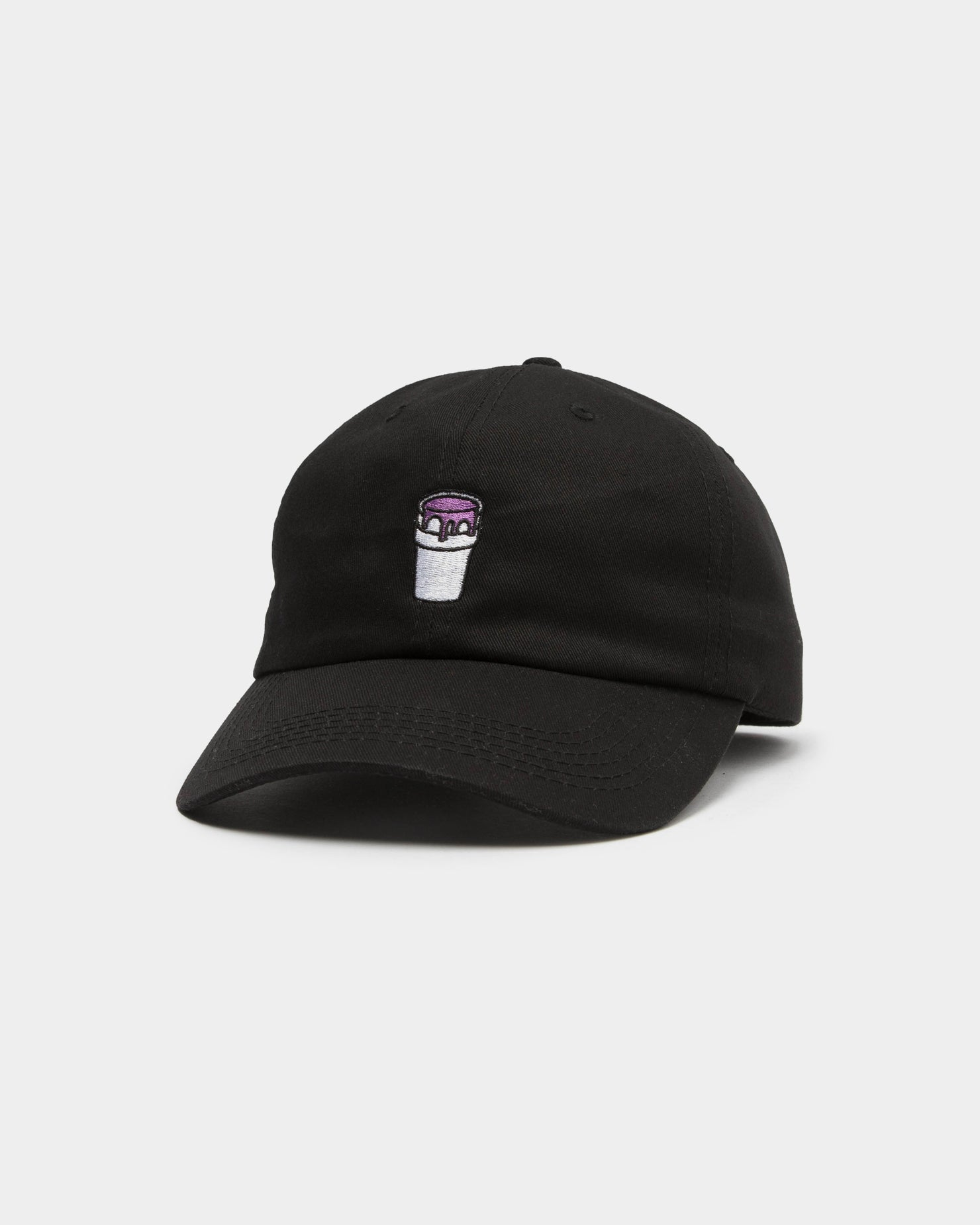 LEAN DREAMS STRAPBACK - Black