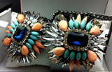 Major Suit Colorful Wings Necklace Bracelet
