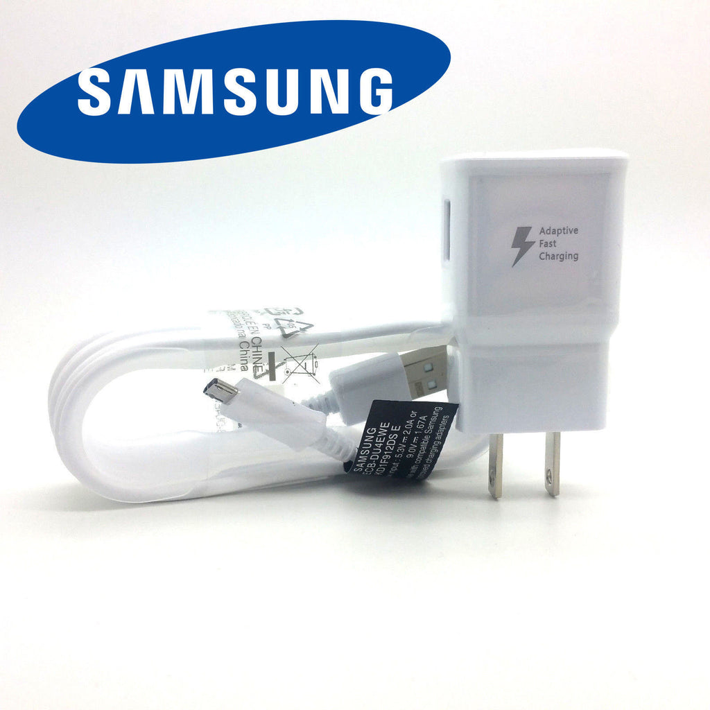 OEM Fast Rapid Wall Charger 5Ft Cable For Samsung Galaxy S6 S7 Edge Note4 Note5