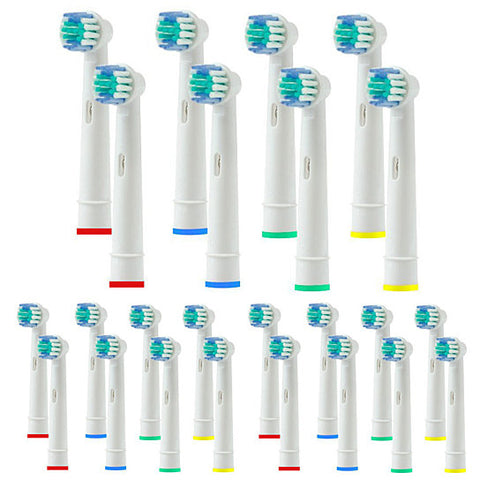 Pack of 20 Oral-B Compatible Replacement Toothbrush Heads