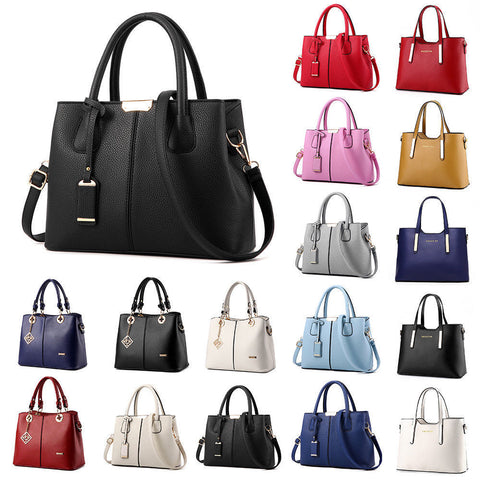 Women's Lady Handbag Shoulder Bags Tote Purse Leather Messenger Hobo Bag Satchel