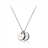SILVER FIRST LOVE NECKLACE