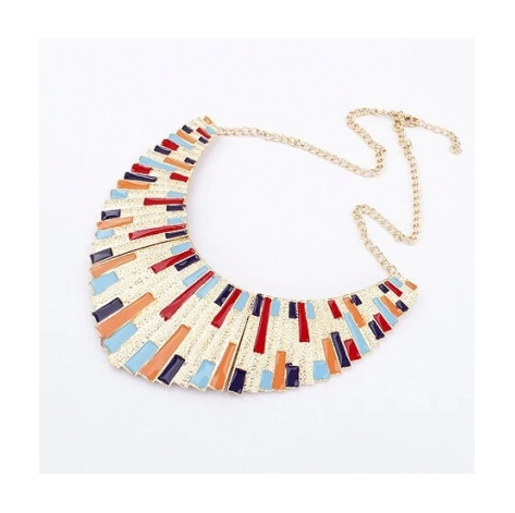 FASHION EXAGGARATED STATEMENT NECKLACE