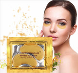 24k Gold Anti Aging Dark Circle Collagen Eye Patches Pad Mask Bag Gel (10 Packs)