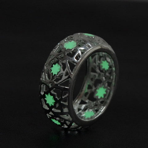 GLOW IN THE DARK CLASSIC RING FOR WOMEN