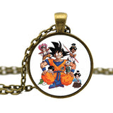 3D Stereoscopic Cartoon Dragon Ball Pendant Necklace