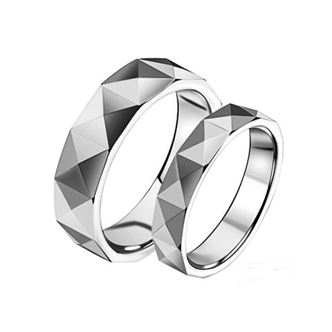 STAINLESS STEEL BEAUTIFUL COUPLE'S RING