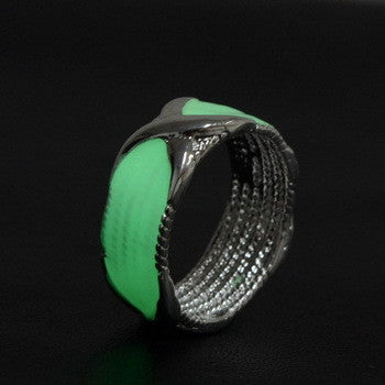 CLASSIC GLOW IN THE DARK LUMINOUS WOMEN RING