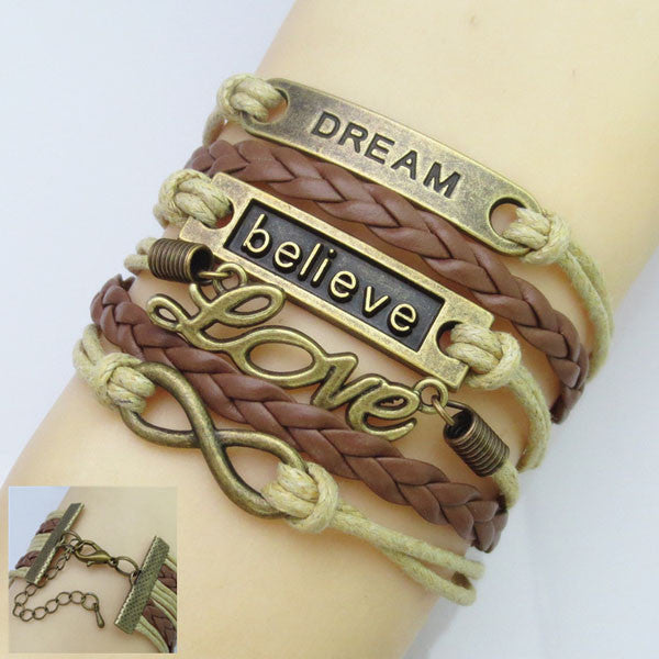 DREAM BELIEVE LOVE INFINITY