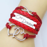ONE DIRECTION DOUBLE HEART