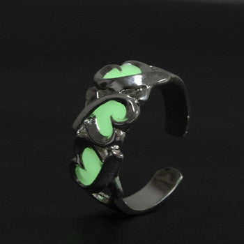 CLASSIC WOMEN GLOW IN THE DARK LUMINOUS RING