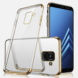 For Samsung Galaxy Note 8 9 S9 S8 Plus Hybrid Rubber Clear Slim Case Cover