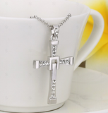 Fast and Furious 7 Dominic Cross Pendant Necklace