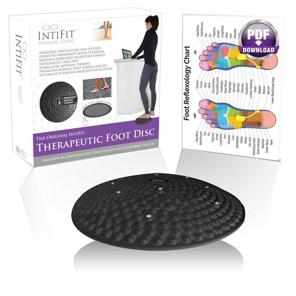 Inti Fit Original Therapeutic Foot Disc - Magnetic Reflexology & Acupressure Foot Disc - Inti Fit Living Well