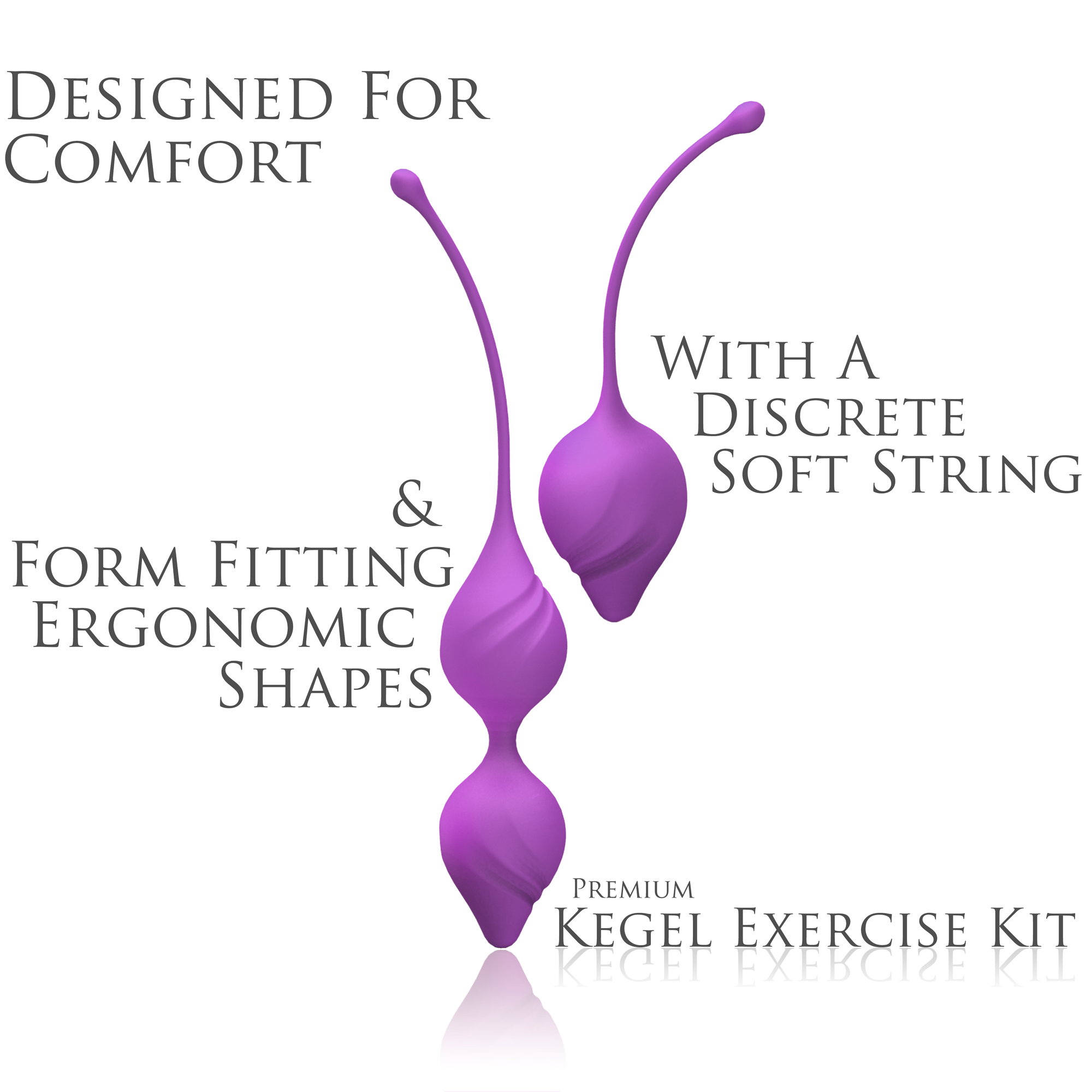 IntiFit Premium Kegel Exercise Kit