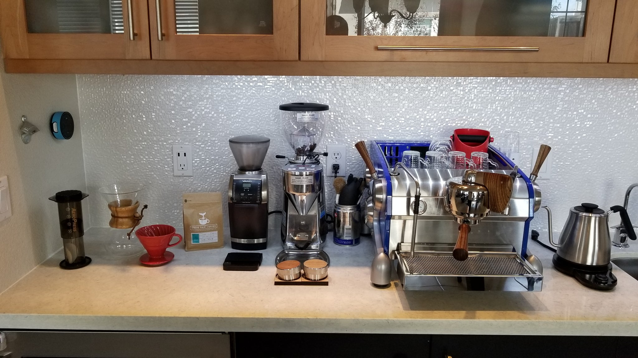 Closeup: Matt's Brew Setup