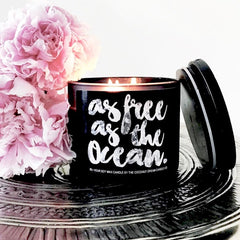 BLOOD ORANGE & CASSIS - The Coconut Dream Candle Co