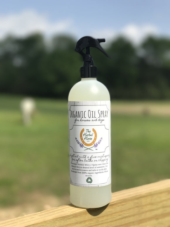 Organic Oil Spray