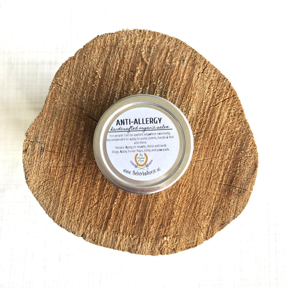 Anti-Allergy Salve- Organic, extra Gentle
