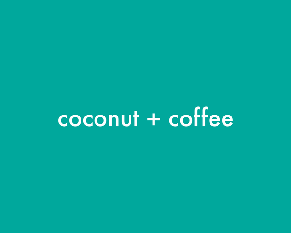 Coconut + Coffee | Coffee Scrub