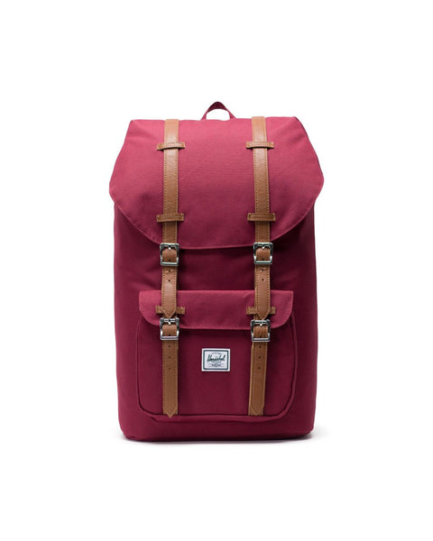 LITTLE AMERICA BACKPACK (wine/tan)