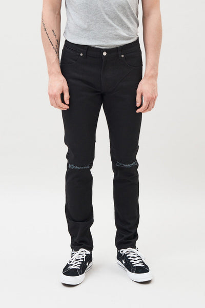 CLARK RIPPED JEANS (black)