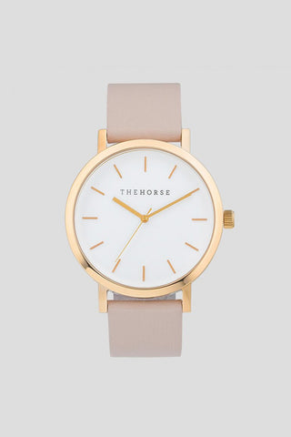 POLISHED ROSE GOLD / BLUSH LEATHER (ORIGINAL)