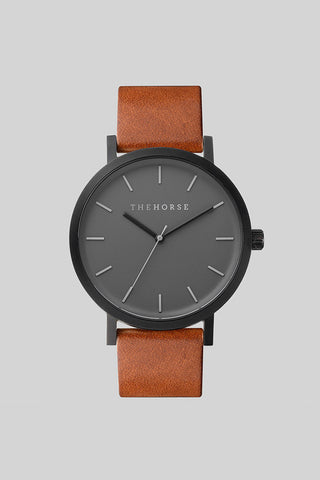 ORIGINAL WATCH (matte black / tan)