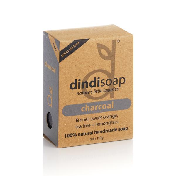 CHARCOAL BOXED SOAP (110g)
