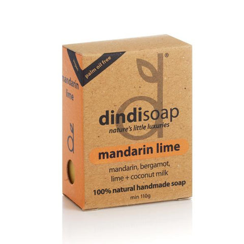 BOXED SOAP 110g (mandarin lime)