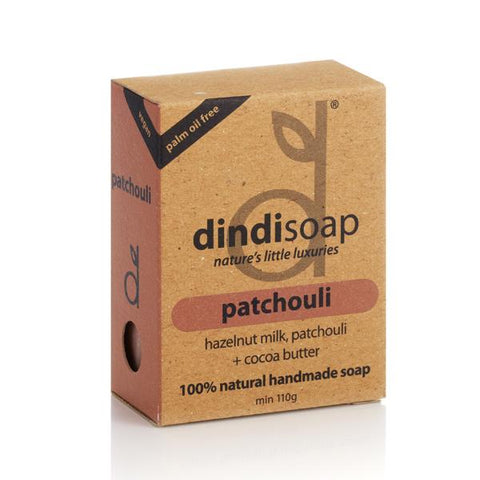 BOXED SOAP 110g (patchouli)