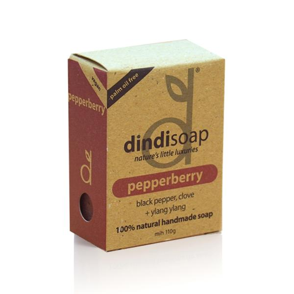 BOXED SOAP 110g (pepperberry)