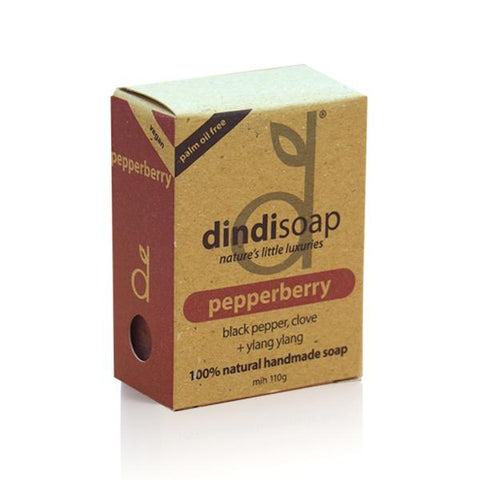 PEPPERBERRY BOXED SOAP (110g)
